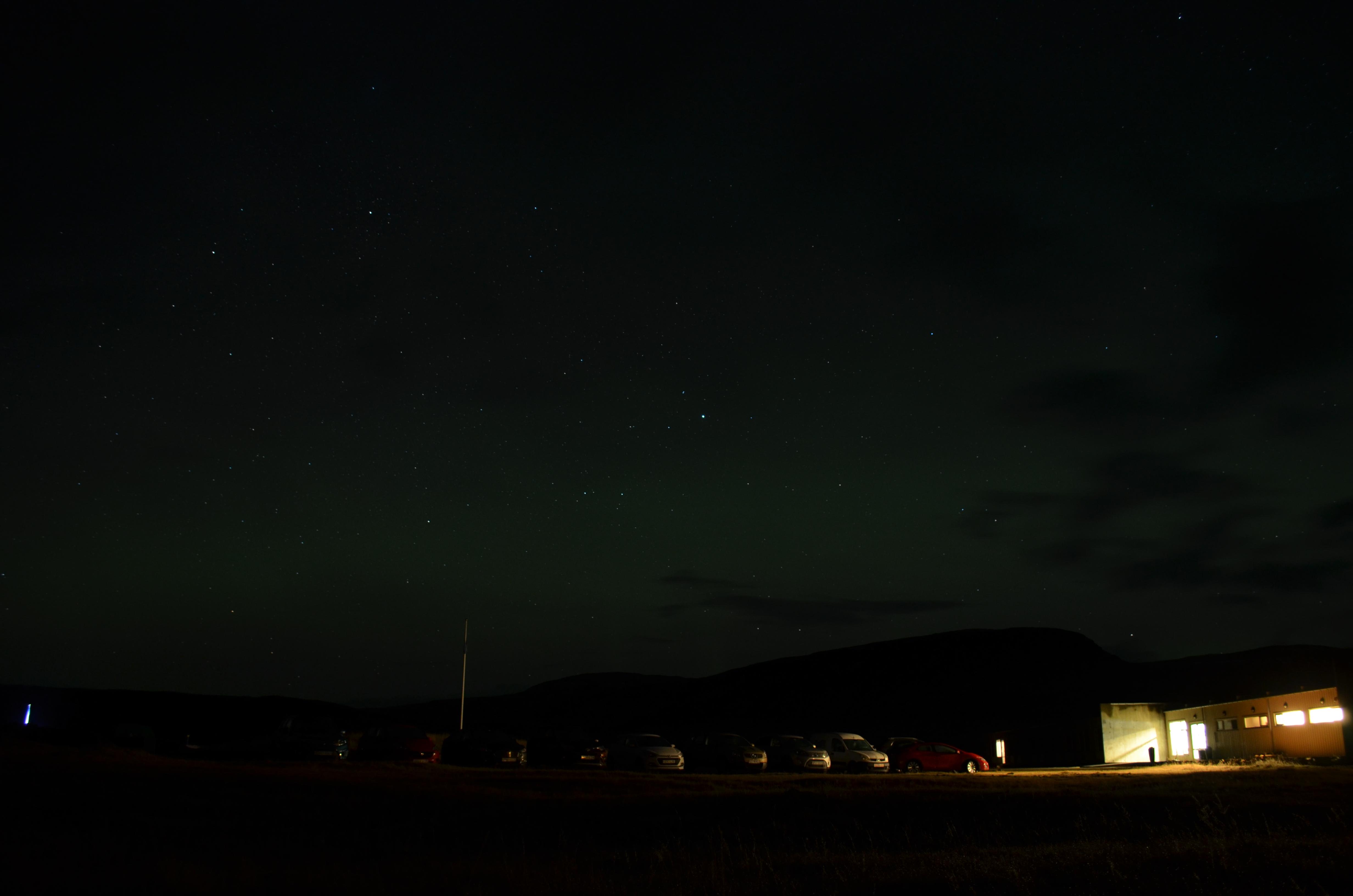 Noorderlicht: Ondanks foto's van de groene gloed, nog steeds op mijn bucketlist.