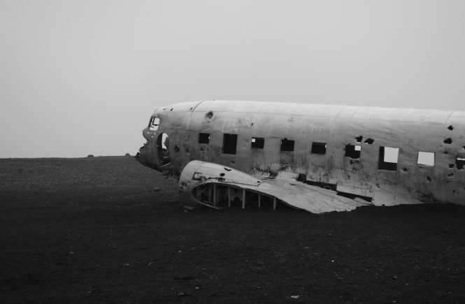 Travel Inspiratie: Air Plane Wreck IJsland