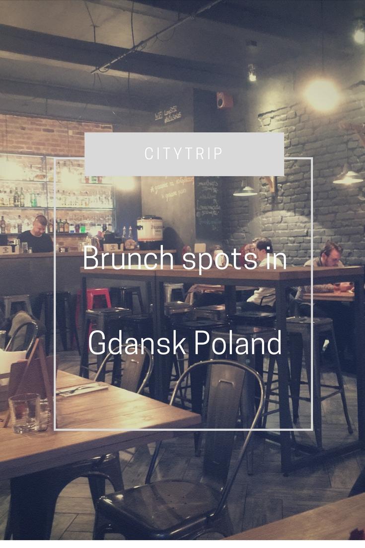 Hotspots // Brunchmogelijkheden in Gdansk