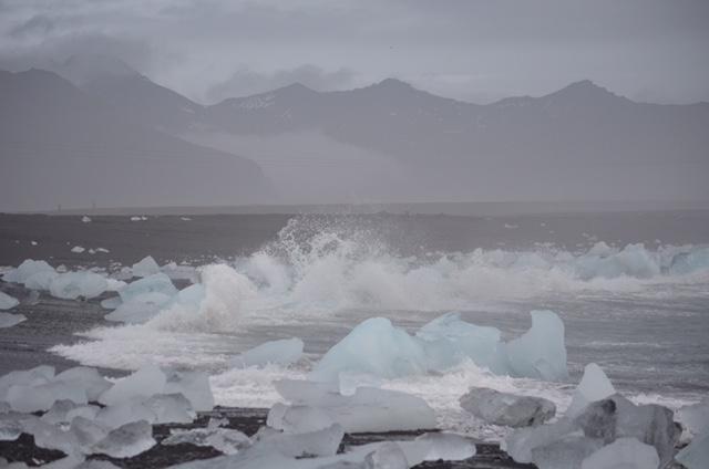 Het fotogenieke gletsjermeer Jokulsarlon in IJsland in beeld