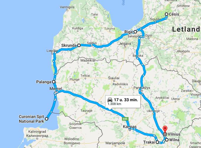 Roadtrip Diaries // Route 2 weken Litouwen en Letland - Part I