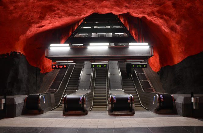Must Do // Bezoek de prachtige metro stations in Stockholm