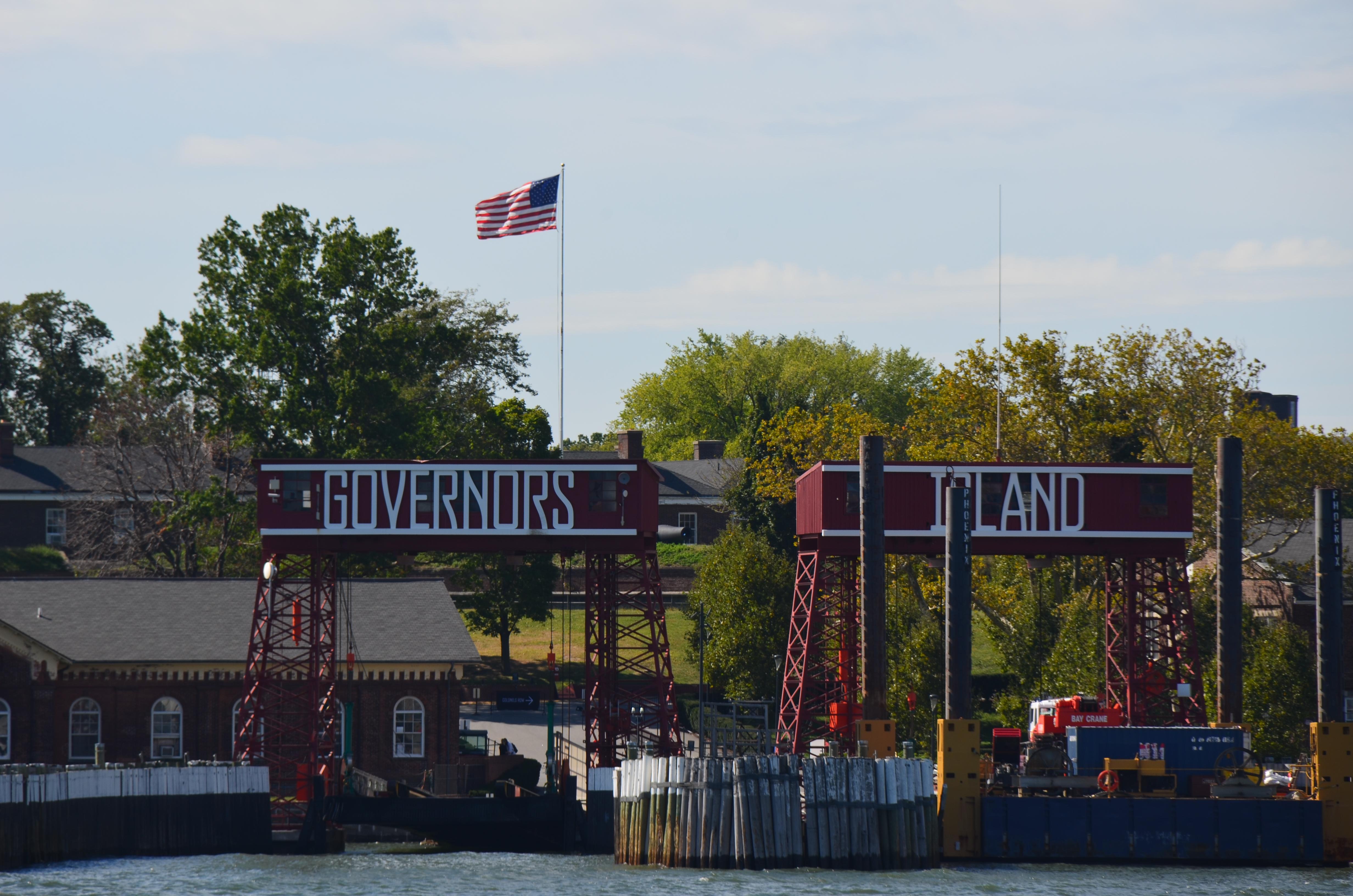 De perfecte escape vanaf Manhattan: Governor Island in New York