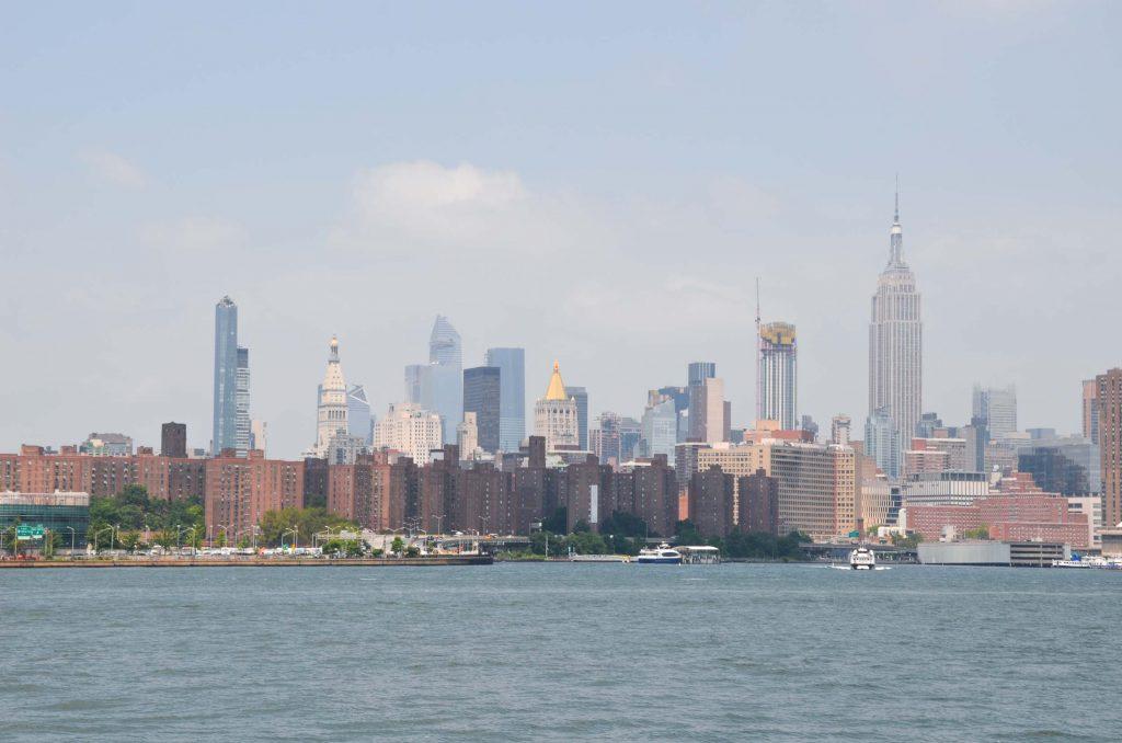 Alleen naar New York