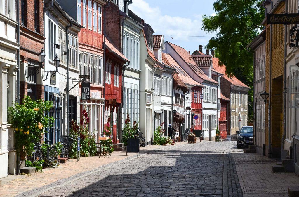 Route Roadtrip Denemarken
