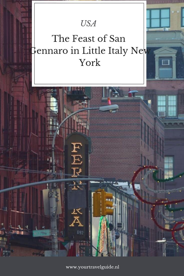 Het Italiaanse festival The Feast of San Gennaro in New York- wat mag je niet missen