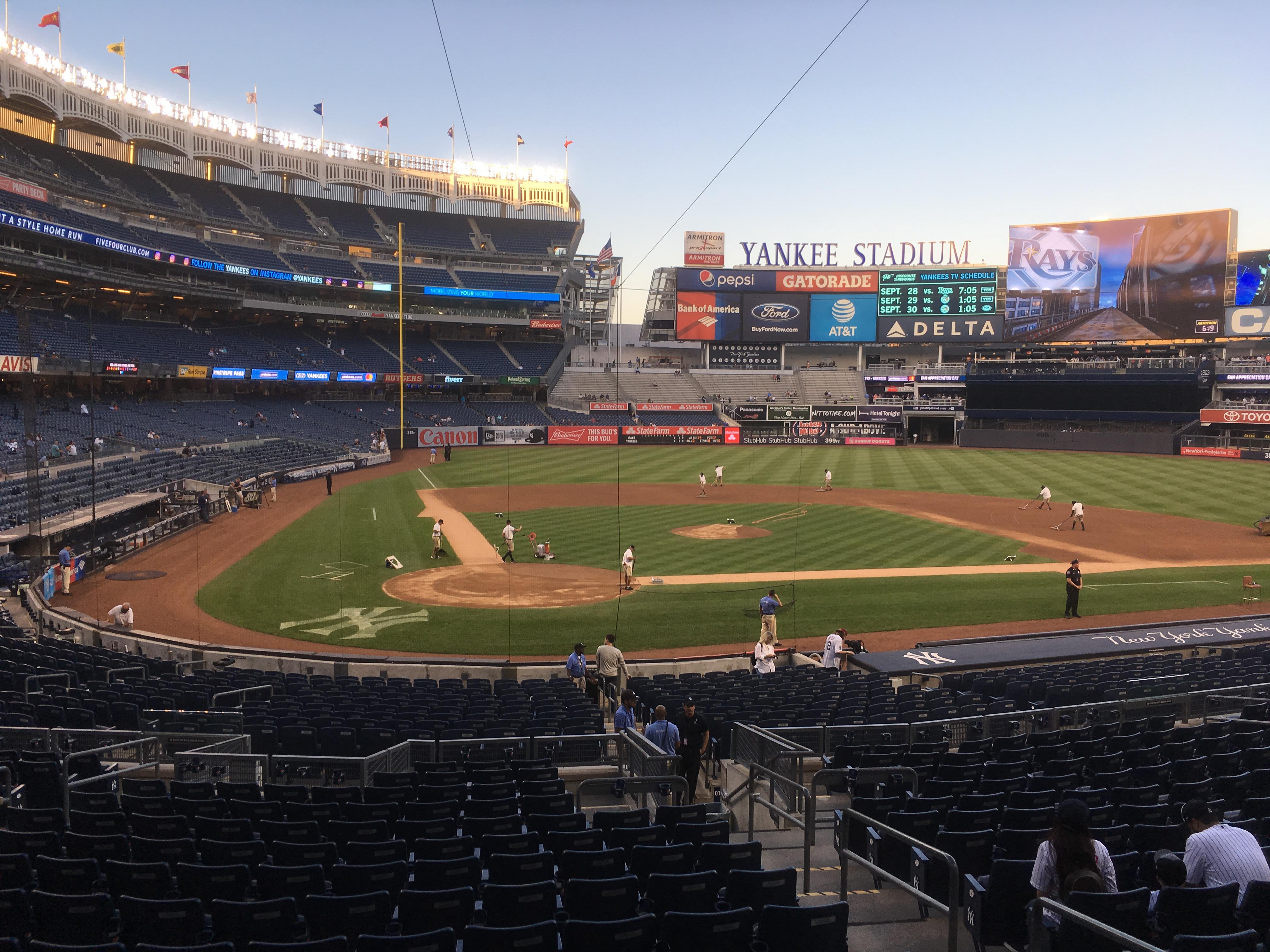 Sportwedstrijden bezoeken in Amerika en Canada
