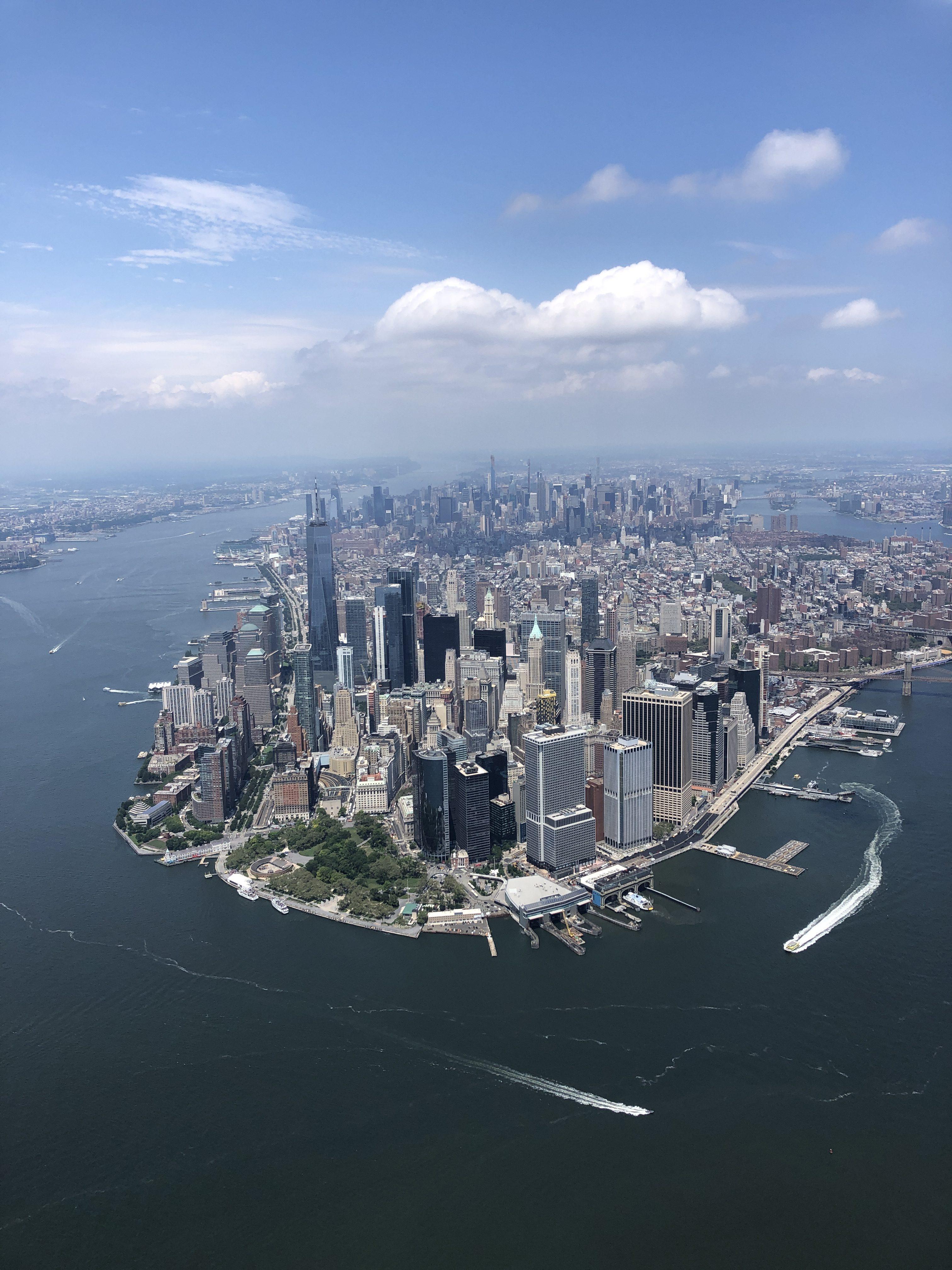Bucketlist // Helikoptervlucht boven New York zonder deuren via FlyNYON