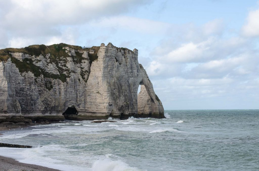 Route Roadtrip Normandie
