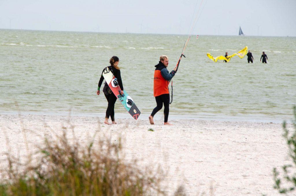 kitesurfen waterland van friesland